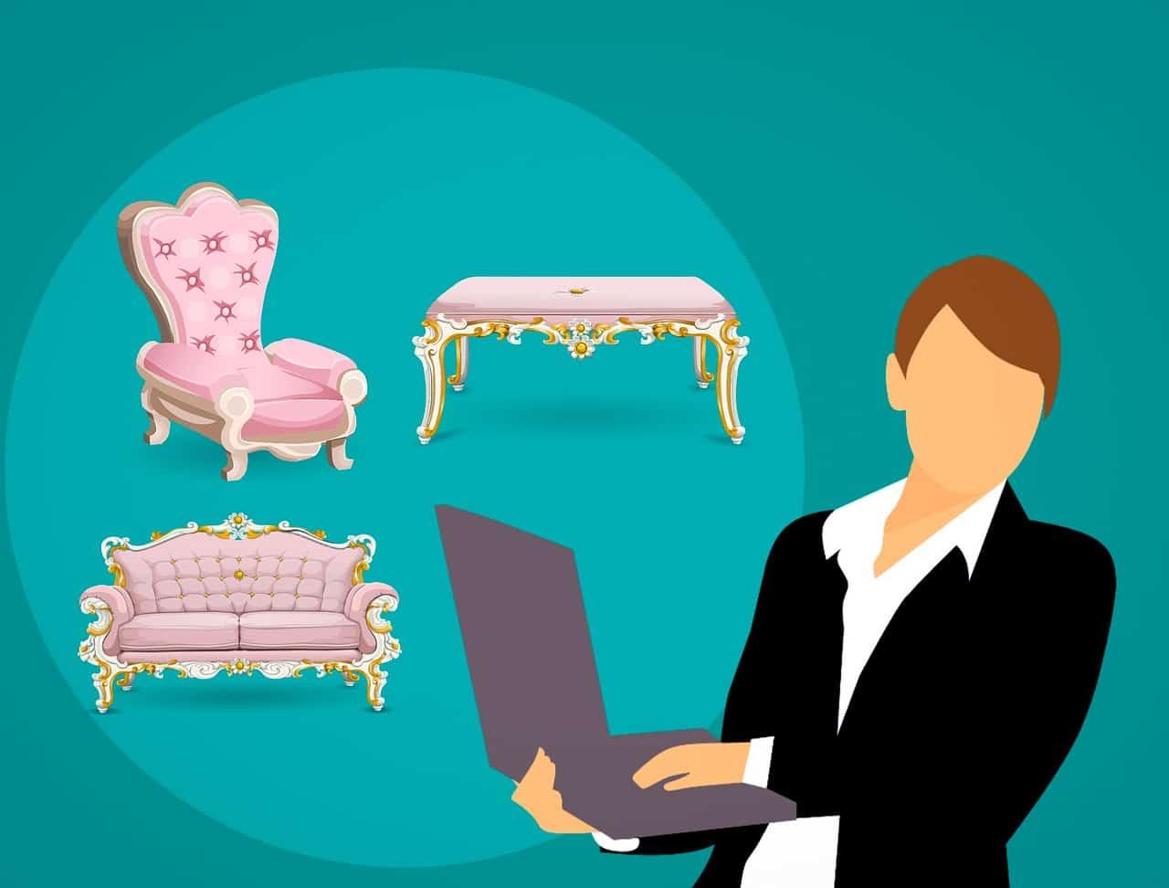 קניית רהיטים אונליין