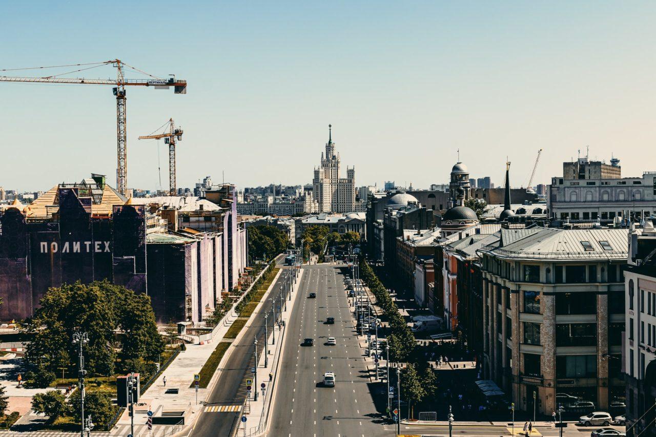 בנייה בגובה - תמונה להמחשה